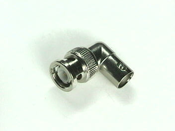 BNC Male-Female Right Angle Adapter