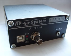 PMSDR- SDR RX 0,1-72 MHz Kit Version 2.2