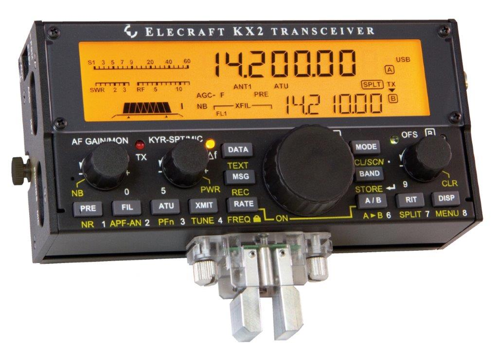 KX2 SSB/W/DATA 80-10m Transceiver