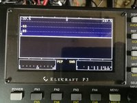 P3- Elecraft Panoramaadapter ready assembled incl. P3 TX Monitor  Directional Coupler
